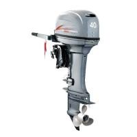 Motor de Popa Hidea 40HP HD40FHES 2 Tempos com Manche e Partida Elétrica